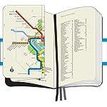 Moleskine City Notebook PRAGUE Couverture rigide noire 9 x 14 cm