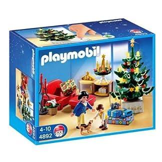 PLAYMOBIL 4892 – Salón con decoración navideña