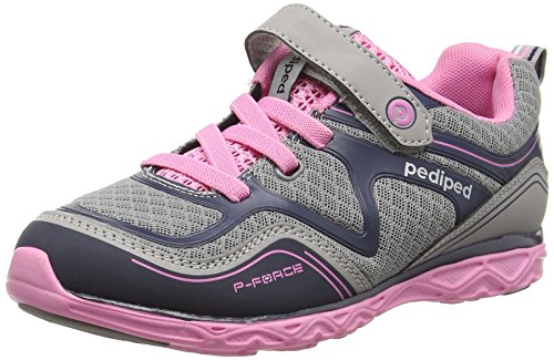 pedipedForce - Scarpe Running da ragazza' Silver (Silver Navy)