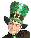 Der irische hei�e Stempel-Shamrocks Hut der Inselbewohner-Mode-erwachsener erwachsener ST-Patricks Tagesfantasie-Neuheit-Kleid-eine Gr��e