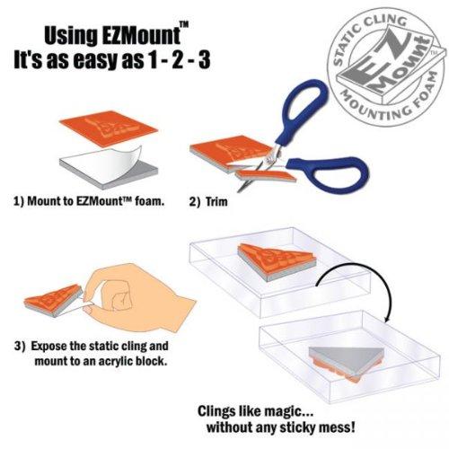 Image of The Original EZ Mount Stamp 'n' Stor System