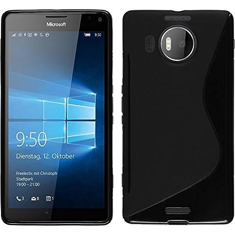 PhoneNatic Case für Microsoft Lumia 950 XL Hülle Silikon schwarz