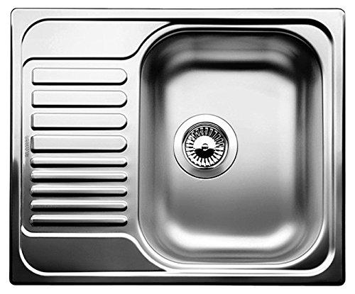 Blanco Tipo 45 S Mini Küchenspüle, Edelstahl Naturfinish, 516524