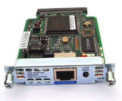Csu Dsu (Cisco WIC-1DSU-T1 1-port T1/fractional T1 Dsu/csu Wan Interface Card)