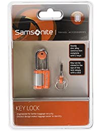 Samsonite Luggage Lock Travel Accessories Key Lock, Orange 45574 1641