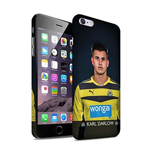 Offiziell Newcastle United FC Hülle / Matte Snap-On Case für Apple iPhone 6S+/Plus / Janmaat Muster / NUFC Fussballspieler 15/16 Kollektion Darlow