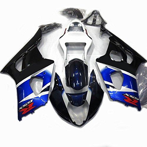 Alpha Rider Motorrad ABS Spritzguss Verkleidung Kaminabdeckung Kit Arbeit Cover Guard Karosserie für Suzuki GSXR1000GSXR 1000K32003–2004 (2004 Gsxr 1000 Tank)