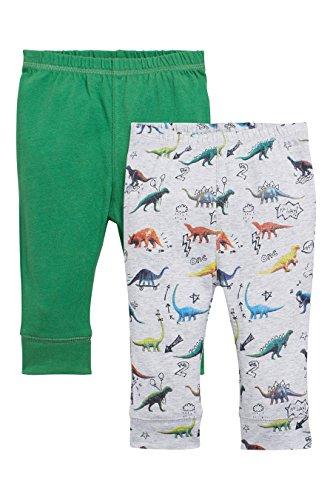 next Bebés Niños Niñas Paquete De 2 Pantalones De Chándal Dinosaurio Colores Varios (0 Meses-2 Años)