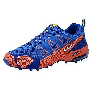 Manadlian Sneakers Schuhe Herren Winterstiefel Männer Lässig Im Freien Bergsteigen Schuhe Leichtgewicht Atmungsaktiv Sneakers mit Schnürung