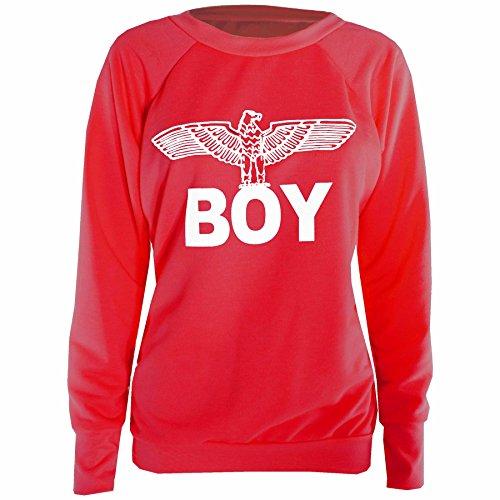 oops-outlet-pantaloni-sportivi-donna-boy-sweatshirt-red-army-eagle-wings-logo