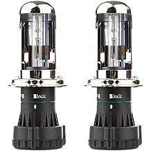 OSAN H4-3 35W 8000K Hi/Lo Bi-xenon HID Lámparas de bombillas de repuesto 6000K (Pack of 2)