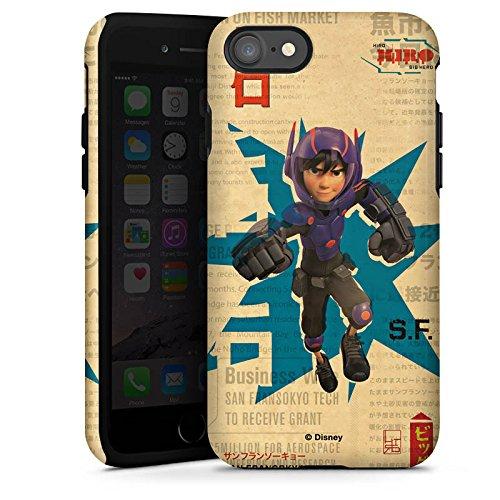 Apple iPhone X Silikon Hülle Case Schutzhülle Disney Hiro und Baymax Merchandise Zubehör Tough Case glänzend