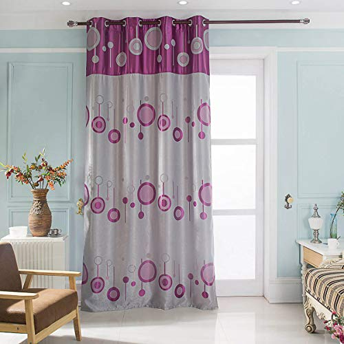 Best Interior Cortina Bicolor obscurcissant Lunar–Violet–Dimensiones: 140x 260cm