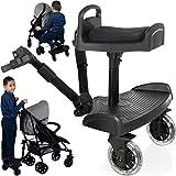 Buggyboard + Zusatzsitz (SET) für Kinderwagen Buggy Jogger bis 20 Kg