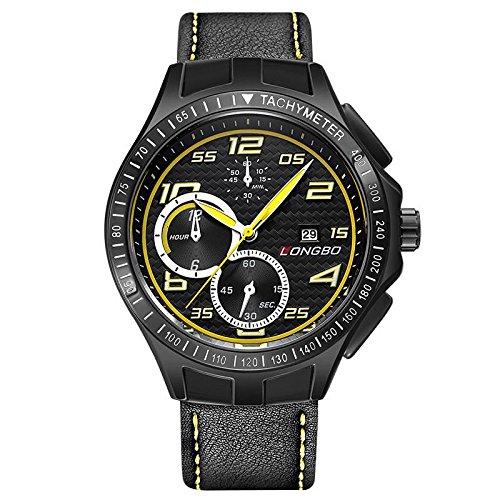 BIAOSHOU® Uhr Mode Wasserdicht Replik Sport Herren Armbanduhr Quarzuhr (Replik Männer Uhren)
