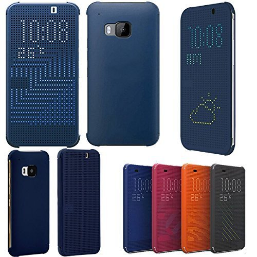 JOYOOO Dot View Case Cover für HTC One M9 Hc M231 (Htc M8 Dot View Case)
