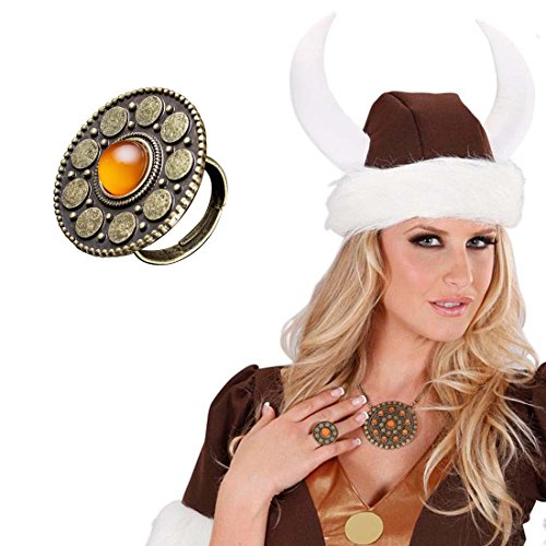 Kelten Ring Keltenring bronze Keltischer Ring Wikingerring Wikinger Schmuck Kostüm (Accessoires Wikinger Kostüme)