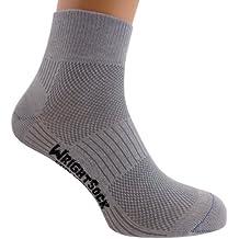 Wrightsock Coolmesh II Quarter Socke White