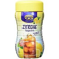 Krüger Teegetränk Zitrone, 8 Liter Ergiebigkeit, 6er Pack (6 x 400 g Dose)