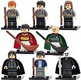 Harry Potter, komplettes 8-teiliges Set für Lego-Geschenkset