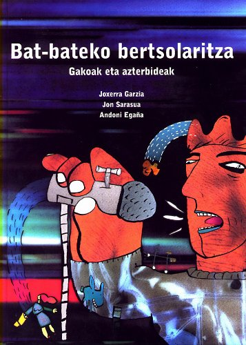 Portada del libro Bat-Bateko Bertsolaritza