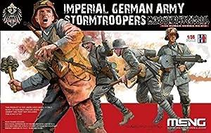 Unbekannt Meng HS de 010Maqueta de Imperial German Army Stormtrooper
