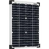 Offgridtec Module solaire monocristallin 20 W 36 V Idéal pour charge de batterie 12...