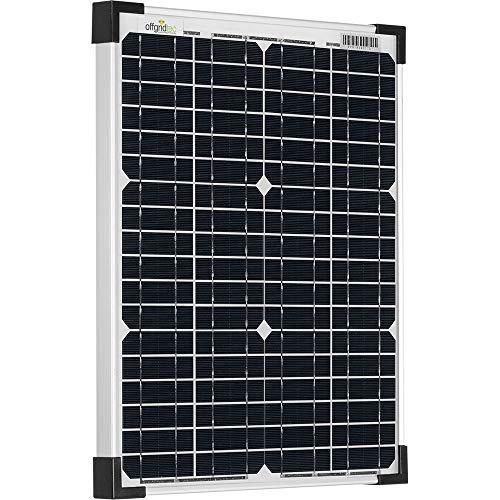 El módulo solar SWM-24 180 W 36 V de Offgridtec (MPN 3 - 01-010850) con 4 tecnología Busbar funciona con células solares monocristalinas con un alto grado de eficiencia de > 20% y gracias a su tensión de funcionamiento de 36 V es ideal para sistem...