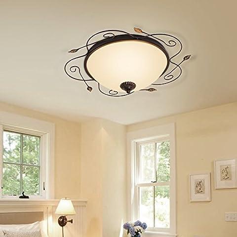 LIVY LED soggiorno camera da letto soffitto den camere luci europee corridoio balcone vetro di modo minimalista