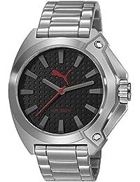 Puma Time Herren-Armbanduhr Zone Analog Quarz Edelstahl PU103811007