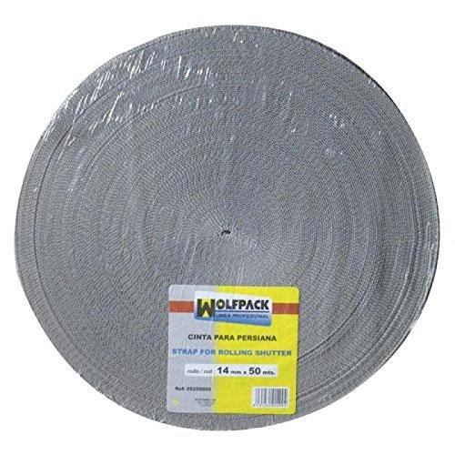 wolfpack-5250005-cinta-persiana-wolfpack-gris-14-mm-rollo-50-metros