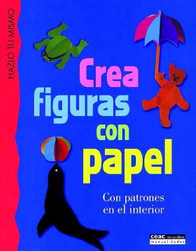 Crea figuras con papel: Con patrones en el interior