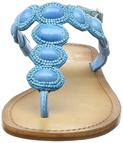 Turquoise With Strap Turchese Stones Donna Tantra Sandali Sandals 1wn10Sqr