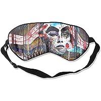 Artistic Woman No Hair Sleep Eyes Masks - Comfortable Sleeping Mask Eye Cover For Travelling Night Noon Nap Mediation... preisvergleich bei billige-tabletten.eu