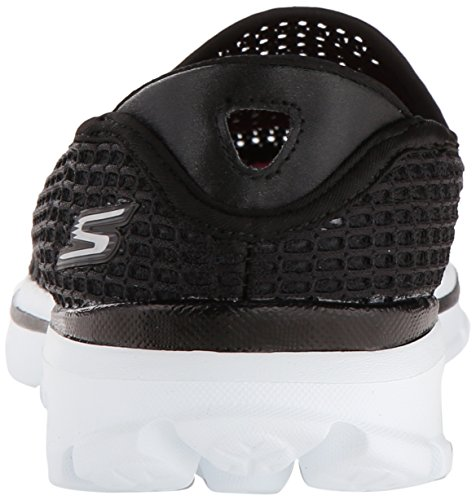 Skechers - Go Walk 3super Breathe 2, Scarpe da ginnastica Donna Black/White
