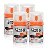 4x Loréal Men Expert Hydra Energy Feuchtigkeitspflege Anti-Müdigkeit 50ml