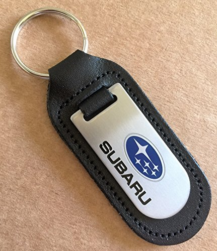 subaru-keyring-genuine-leather-keyring-keyfob