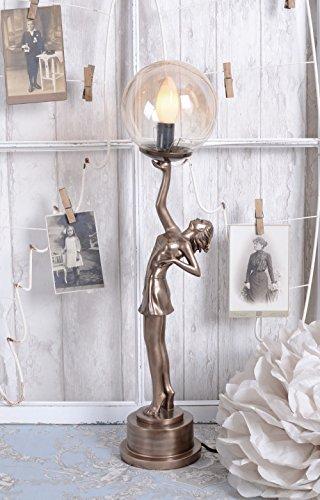 Lampada da tavolo Art Deco ballerino lampada