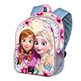 Karactermania Frozen Smile-mochila Basic Zainetto per bambini 40 centimeters 18.2 Multicolore (Multicolor)