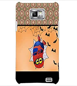 PrintDhaba Funny Image D-4074 Back Case Cover for SAMSUNG GALAXY S2 (Multi-Coloured)