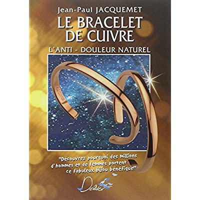 Download le bracelet de cuivre l anti douleur naturel pdf author rating 497 807 votes number of pages 102 pages le bracelet de cuivre l anti douleur naturel available in formats pdf kindle epub fandeluxe Image collections