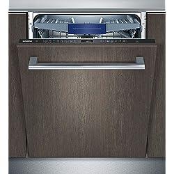 Siemens SN658X00ME Entièrement intégré 14places A+++ lave-vaisselle - Lave-vaisselles (Entièrement intégré, Taille maximum (60 cm), Noir, Tactil, 1,75 m, 1,65 m)