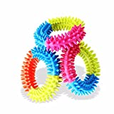 #10: Pet Cotton Chew Toy - Dental Teaser Teeth Cleaning for Small Dog Puppy Biting - Perfect Solution for Dog Teething - Yellow Minion