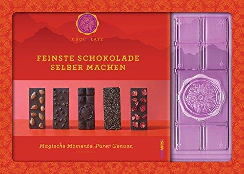 Feinste Schokolade selber machen: Magische Momente. Purer Genuss. Mit einer Form zum Gießen von drei ChocQlate-Schokoladentafeln