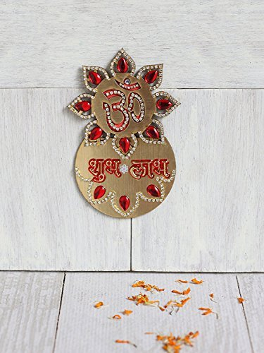 store-indya-auspicious-decorations-om-subh-labh-door-wall-sticker-gold-accented-wooden-cut-outs-home