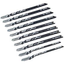 Bosch 2607010629 Pro Line - Juego de hojas de sierra de calar (10 unidades, para madera)