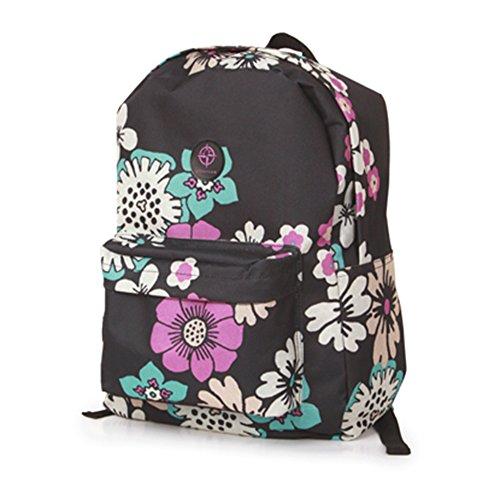 Friendz Trendz-Einstellbare Schultergurte Gepäck Daypack Rucksack Bagpack (Marbs) Pinky
