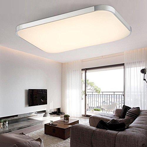 Smarte RGB LED Deckenleuchte mit Fernbedienung und Dimmfunktion