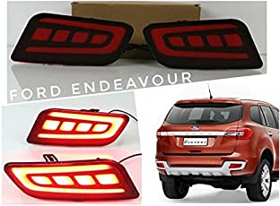 Sitwell Rear Bumper Reflector Light DRL for Ford Endeavour Latest Model