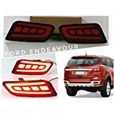 #10: Sitwell Rear Bumper Reflector Light DRL for Ford Endeavour Latest Model